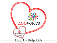400Voices is Sharing Valentine's Love at Texas Children's Hospital