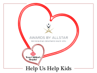 Awards by Allstar Shares Valentine's Love at Texas Children's Hospital