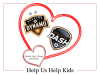 Houston Dash & Dynamo are Sharing Valentine's Love at Texas Children's