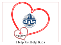 EMSI is Sharing Valentine's Love at Texas Children's Hospital