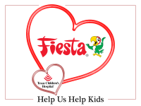Fiesta Shares the Love at Texas Children's Hospital this Valentine's