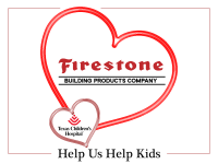 Firestone Shares Valentine's Love at Texas Children's Hospital