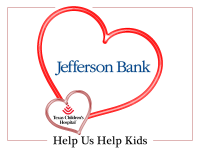 Jefferson Bank is Sharing Valentine's Love at Texas Children's Hospital