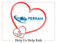 Perham Logistics is Sharing Valentine's Love at Texas Children's