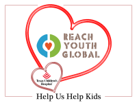 Reach Youth Global is Sharing Valentine's Love at Texas Children's