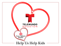Telemundo Houston is Sharing Valentine's Love at Texas Children's